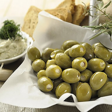 Green Olives Stuffed with Tzatziki (in oil)