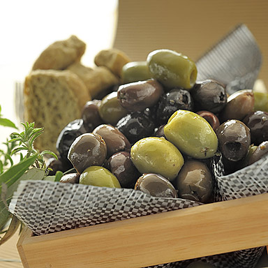 Mixed Pitted Olives, Provençal Style - 01