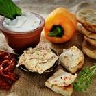 Greek Yogurt Spread - Roasted Peppers & Sundried Tomato - 01