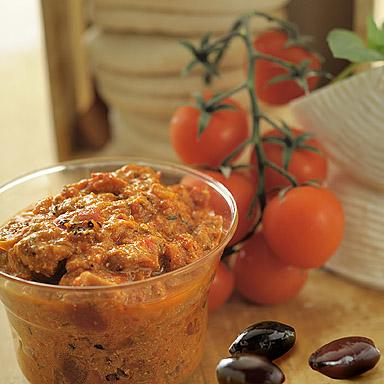 Tomato, Olive & Feta Spread - 01