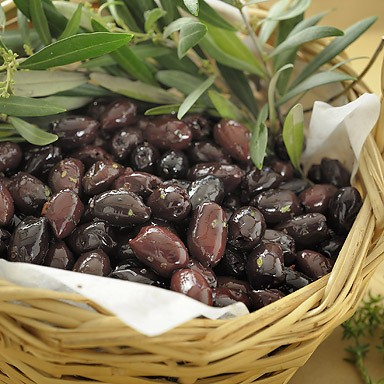 Kalamata Variety Pitted Olives with Herbs