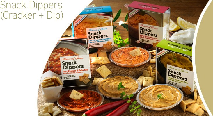 Snack Dippers (Cracker + Dip)
