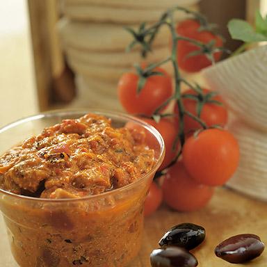 Organic Tomato, Olive & Feta Spread - 01