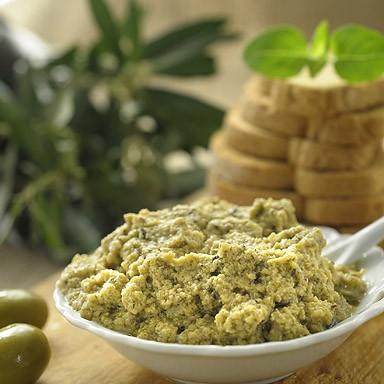 Organic Green Olive Spread