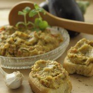 Organic Roasted Eggplant Spread