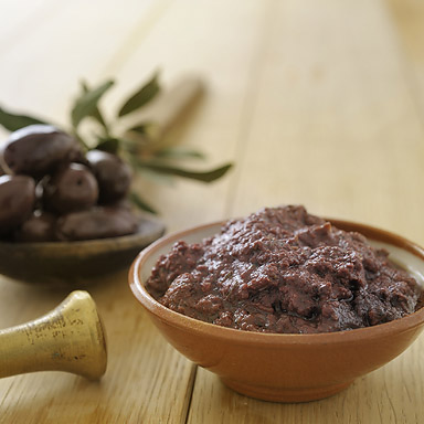 Organic Kalamata Variety Olive Spread - 01