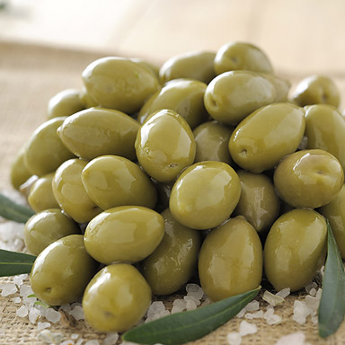 Organic Green Olives - 01